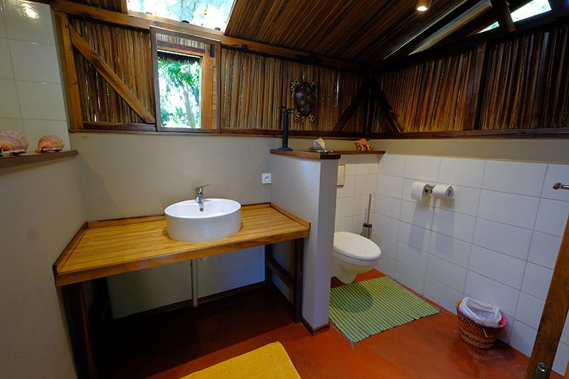 Salle d'eau bungalow familial